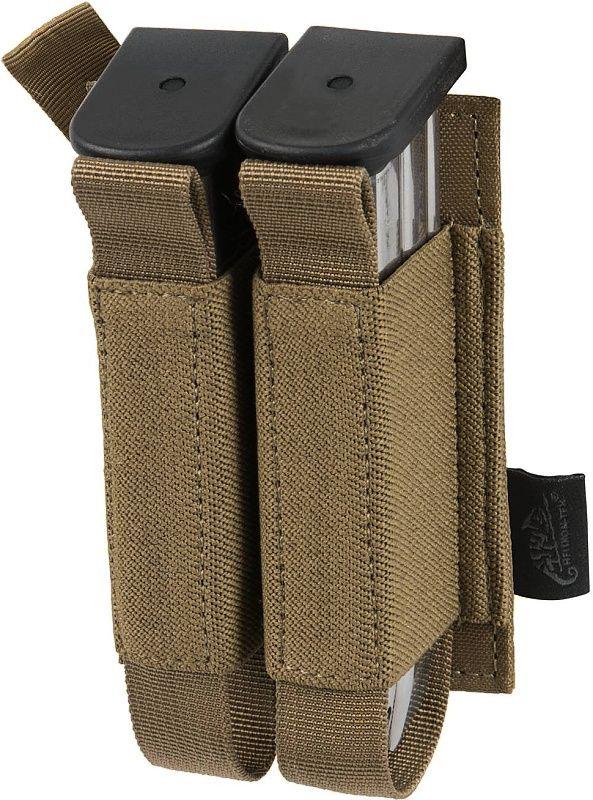 HELIKON MOLLE Double Pistol Mag Insert polyester - šedý (IN-DPM-PO-35)