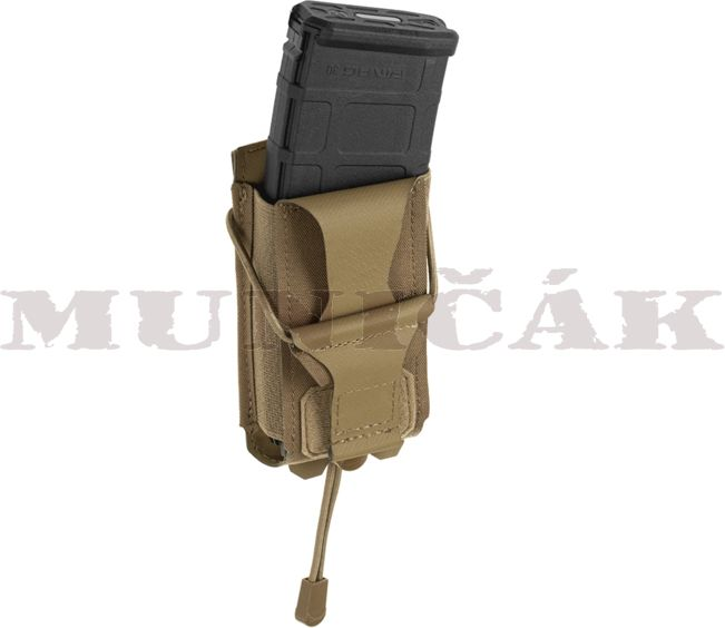 CLAW GEAR MOLLE 5.56mm Backward Flap Mag Pouch - coyote, (22077)