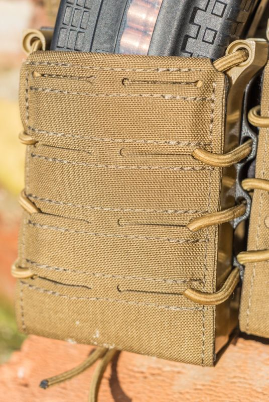 TemplarsGear Double Fast Rifle Mag Pouch (24261) - Coyote