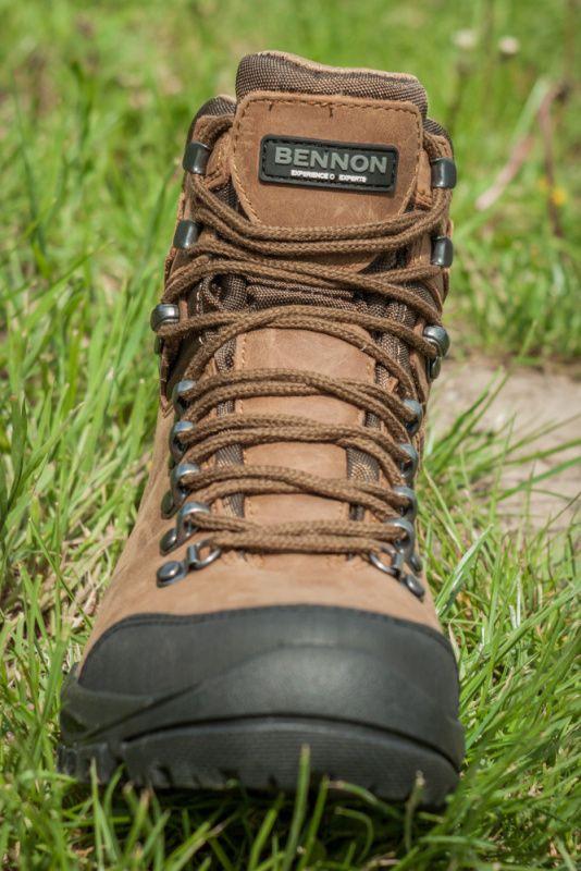BENNON Topánky TERENNO High, coyote, Z60243