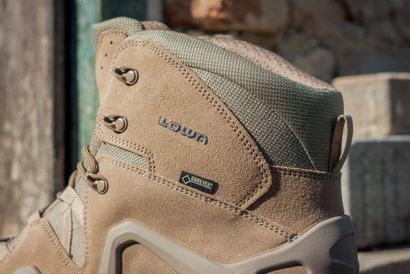 LOWA Taktická obuv ZEPHYR MID GTX - coyote (3105370736)