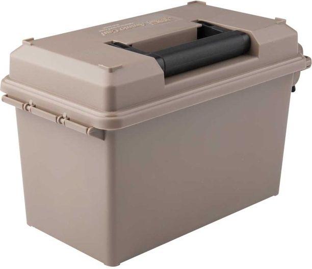 MTM Muničná bedňa 34x18,8x21,5cm + 10x plastový box pre 100ks 9mm munície