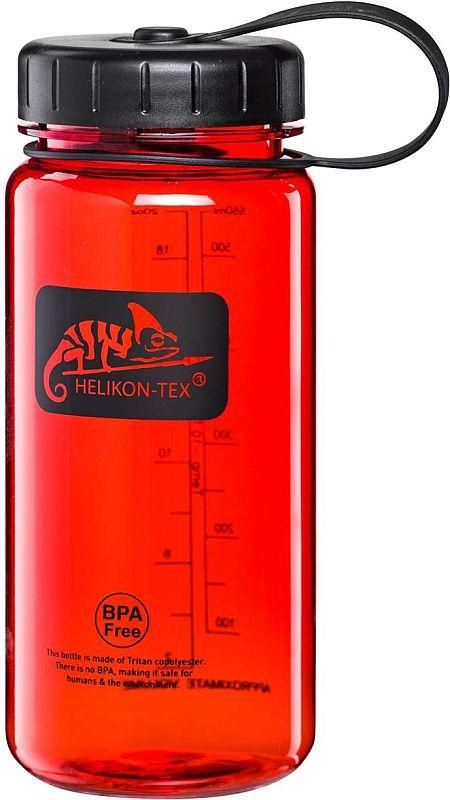 HELIKON Fľaša Tritan Bottle 550ml - červená (HY-WM5-TT-2501A)