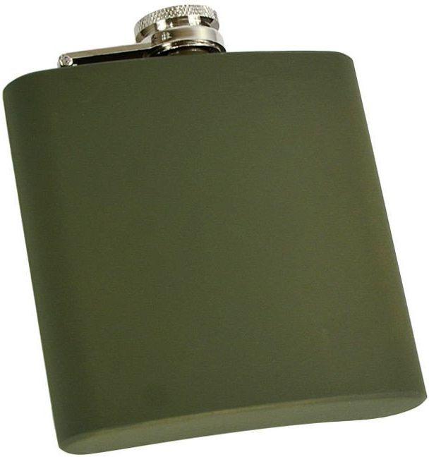 MILTEC Plechová ploskačka 6oz - olivová (14521001-006)