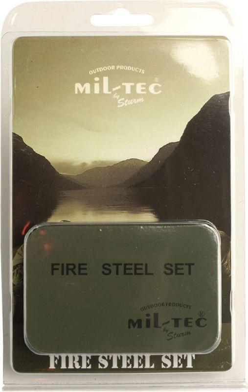 Fire steel MT - horčíkový zapaľovač, SET v krabičke