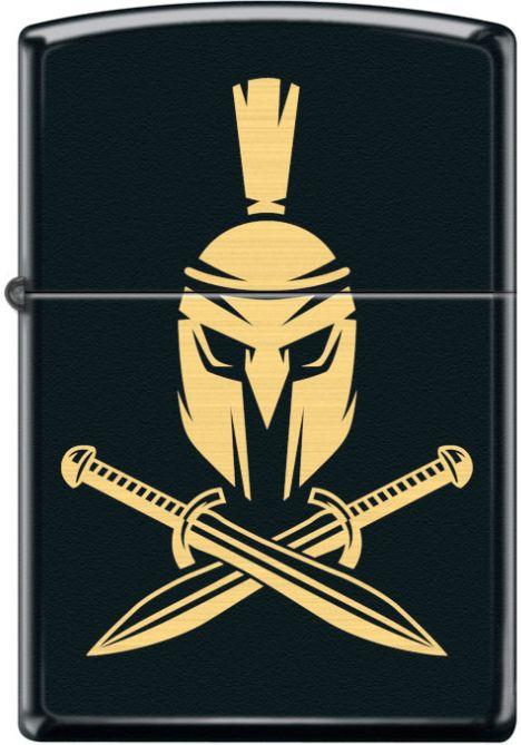 ZIPPO Zapaľovač HELMET WITH CROSSED SWORDS (26932)