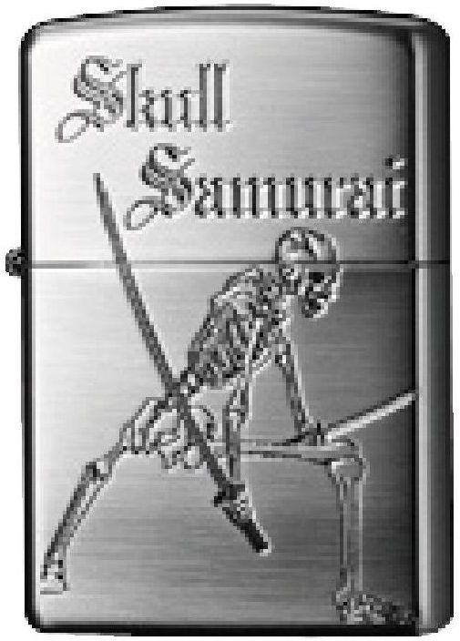 ZIPPO Zapaľovač SKULL SAMURAI, (27097)