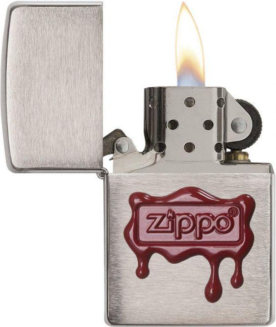 ZIPPO Zapaľovač ZIPPO RED WAX SEAL (21891)