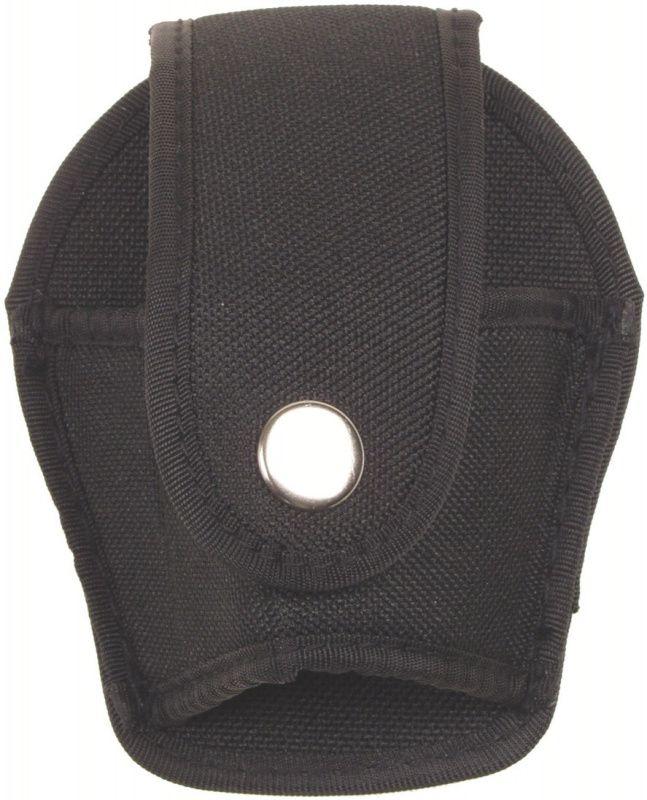 Nylonové púzdro na policajné putá MFH, čierne, 29663