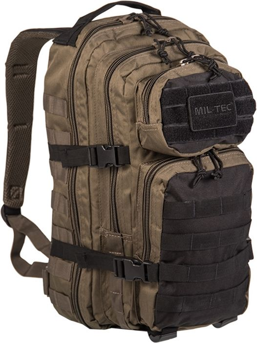Batoh Assault MilTec 20l ranger green/black