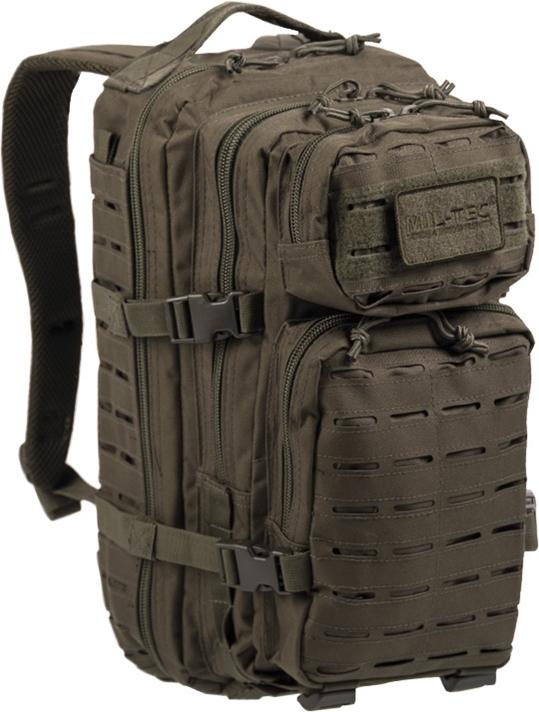 MILTEC Batoh Assault 20L laser cut - olivový, (14002601)