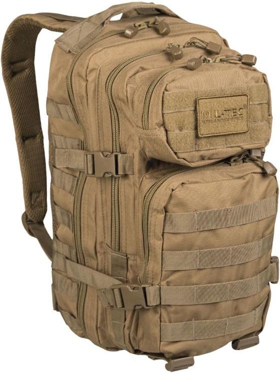 MILTEC Batoh Assault 20L - coyote, (14002005)