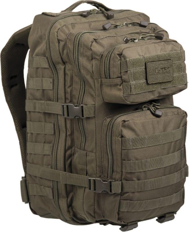 MILTEC Batoh Assault LG 36L - olivový, (14002201)