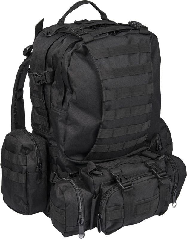 MILTEC Batoh Defense - čierny, (14045002)