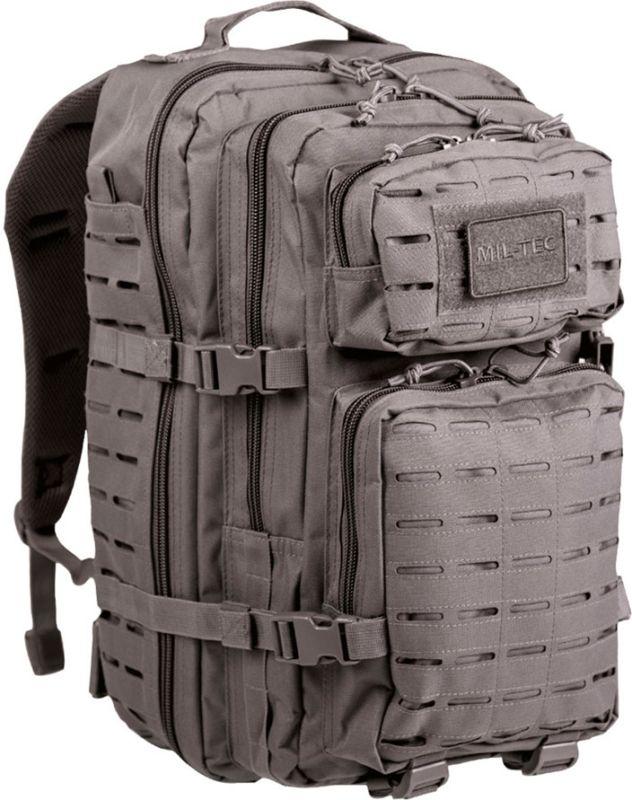 MILTEC Batoh Assault LG 36L laser cut - urban grey, (14002708)