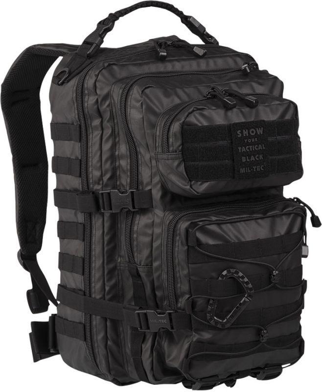 MILTEC Batoh Tactical Assault LG 36L laser cut - čierny (14002288)