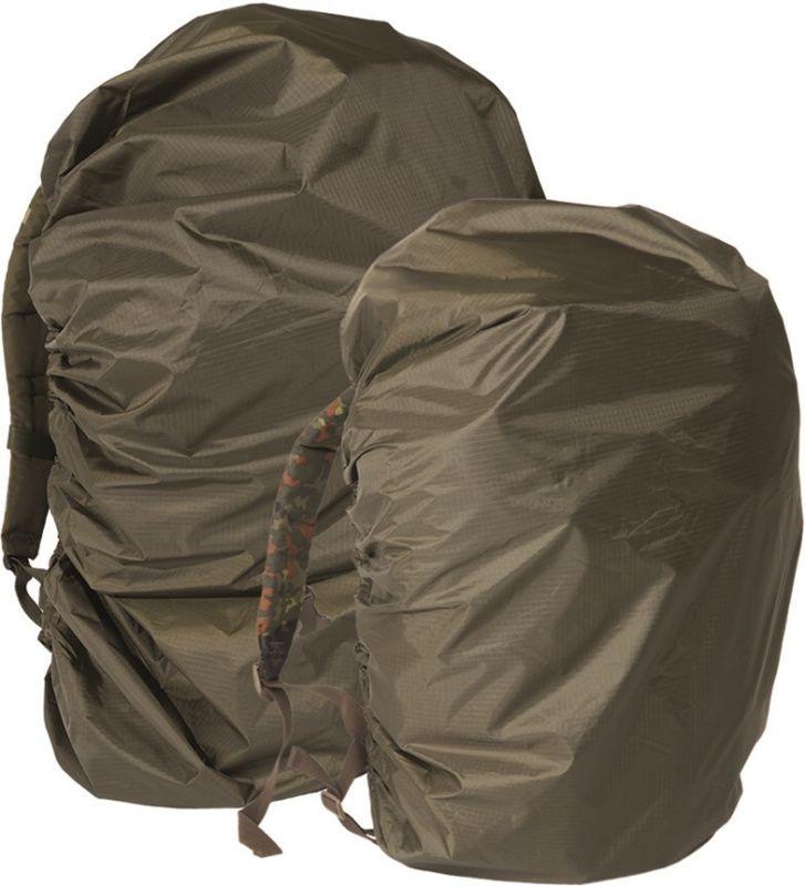 BW obal na ruksak do dažďa, 60x80, olivový