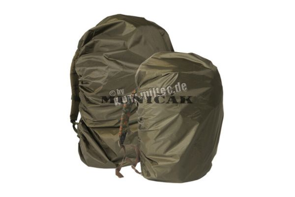 BW obal na ruksak do dažďa, 60x95, olivový