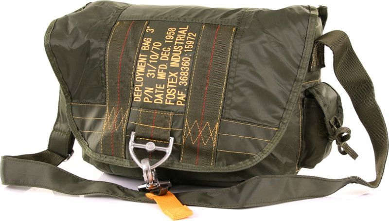 Para taška cez rameno typ 3 - zelená
