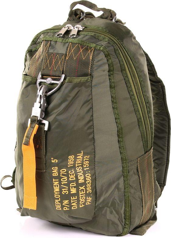Para batoh typ 5 - zelený