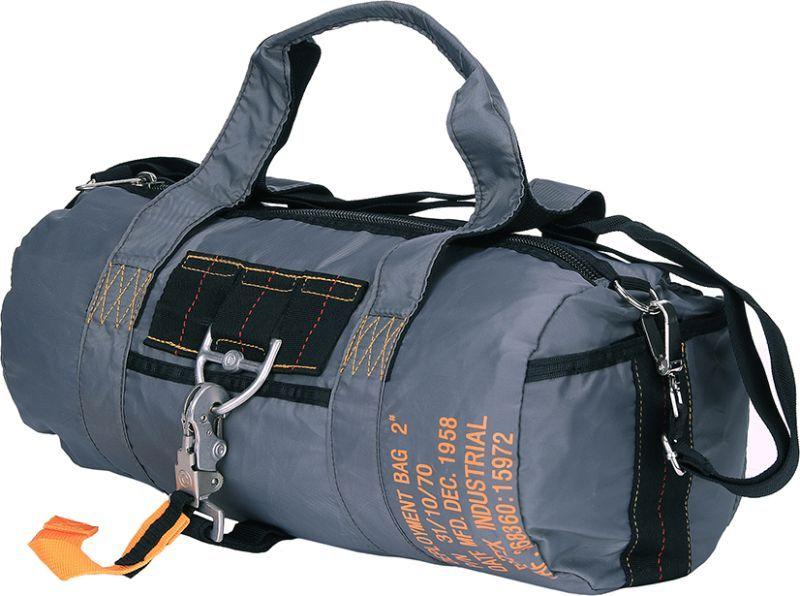 Para taška cez rameno typ 2 - šedá