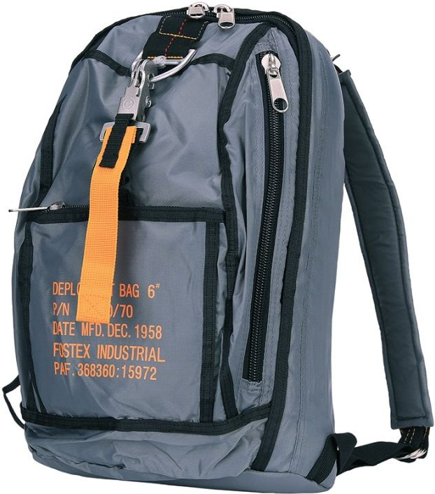 Para taška cez rameno typ 3 - šedá
