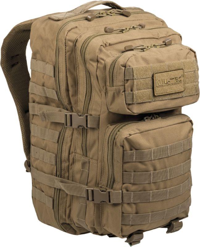 MILTEC Batoh Assault LG 36L - coyote, (14002205)