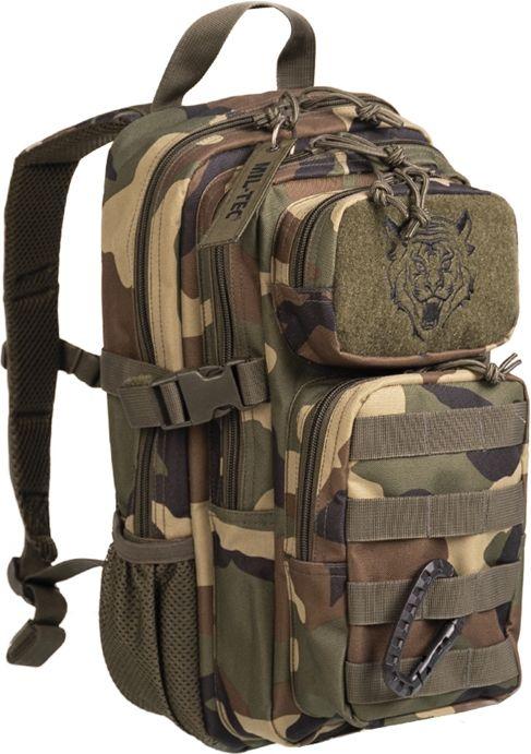 MILTEC Batoh Assault pre deti 14L - woodland (14001120)