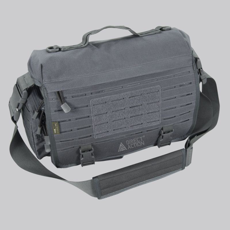 DIRECT ACTION Taška cez rameno Messenger Bag Mk. II. - shadow grey, (BG-MSGM-CD5-SGR)
