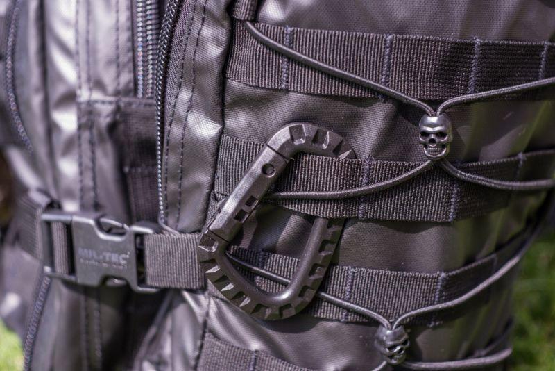 MILTEC Batoh Tactical Assault LG 36L laser cut - čierny, (14002288)