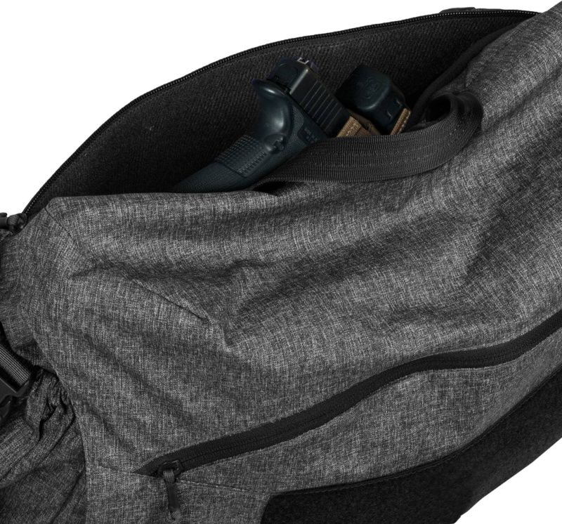 HELIKON Taška cez rameno Urban Courier Bag Medium, nylon, čierno/šedá (TB-UCM-NL-M1)