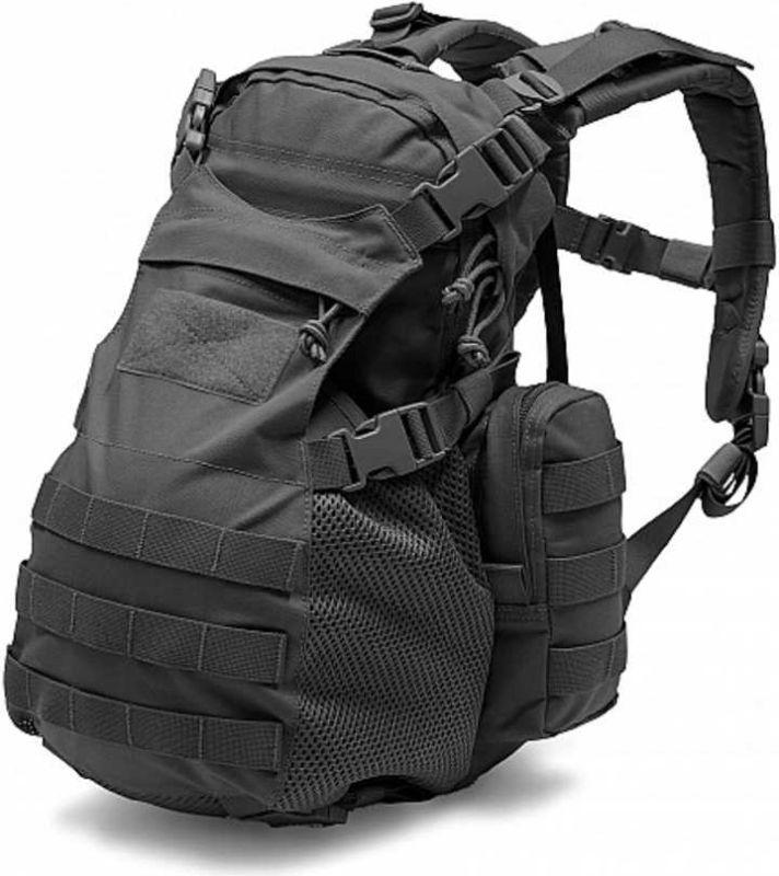 Warrior Elite Ops Helmet Cargo Pack Black (W-EO-HCP-BLK)