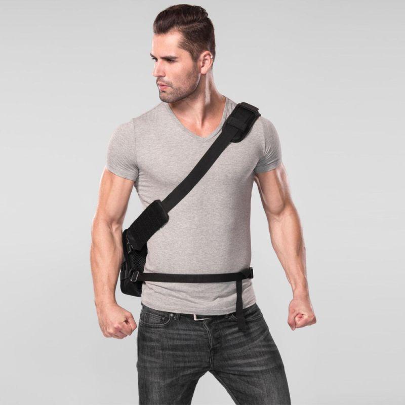 Nitecore Taktická taška cez rameno NEB10 - čierna