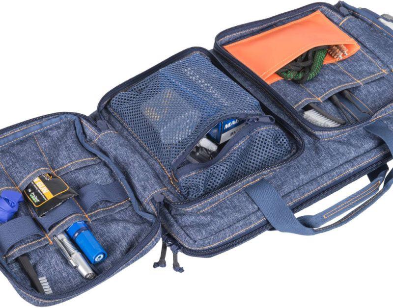 HELIKON Taška na pištoľ nylon - čierno/šedá (MO-MPW-NL-M1)