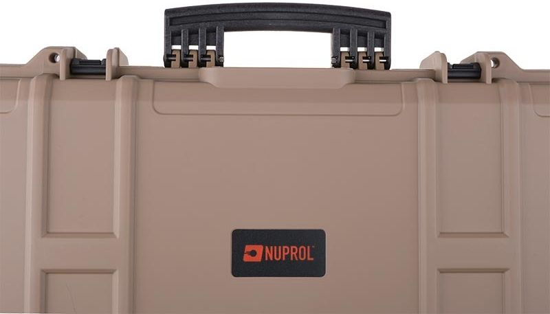 NUPROL Kufor na dlhú zbraň NP XL Hard Case 137cm - tan