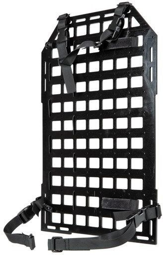 PRIMAL GEAR Molle panel na sedadlo - čierny