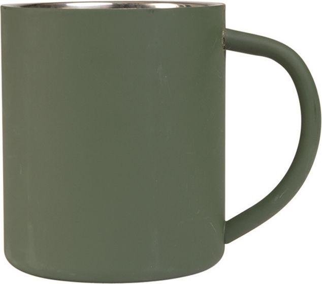 Hrnček dvojplášťový 450ml - olivový