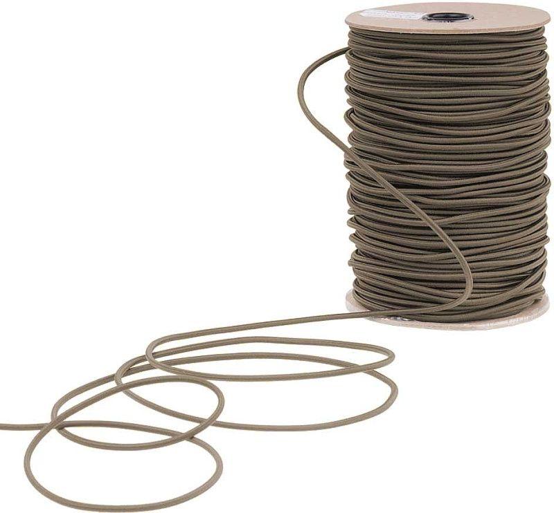 EDCX Meraná elastická šnúra Shock Cord 3,6mm / 1m - coyote