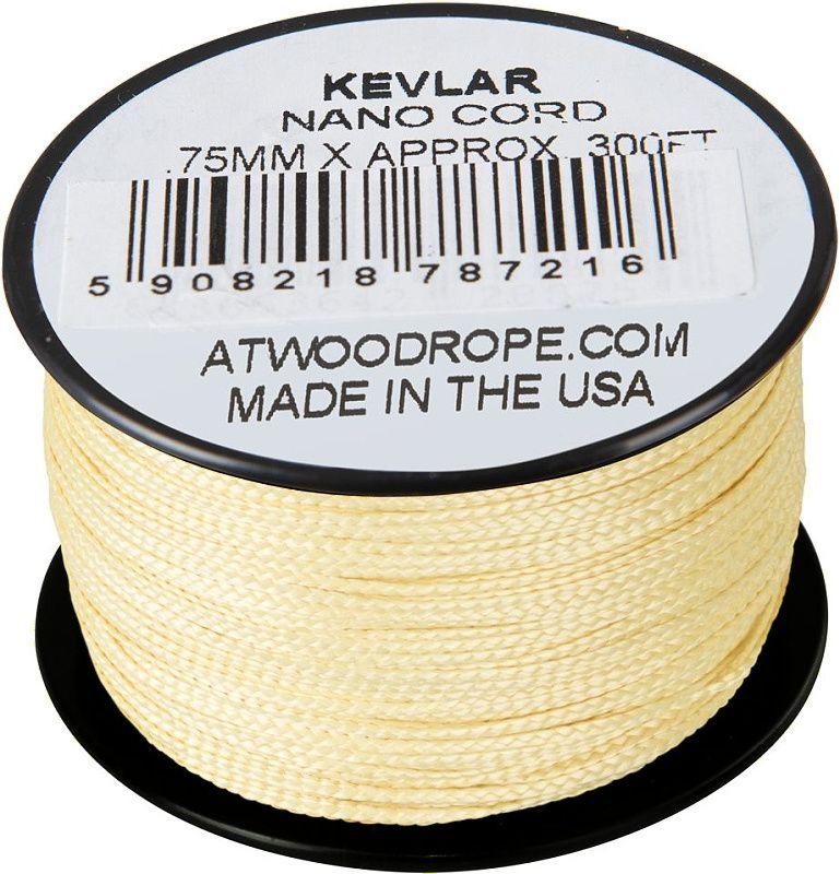 ATWOOD ROPE MFG Nano Cord 0,75mm x 300ft - žltá (CD-NK3-NL-26)