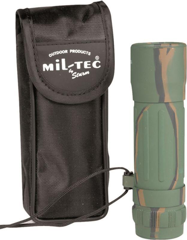 MILTEC Monokulár 10x25 - tarn, (15705020)