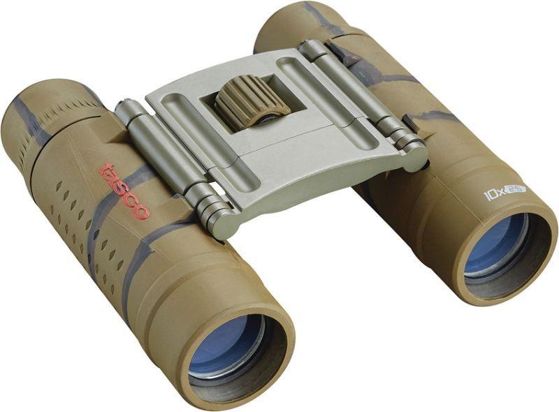 TASCO Ďalekohľad Tasco Essentials 10x25mm - camo, (TAS168125B)
