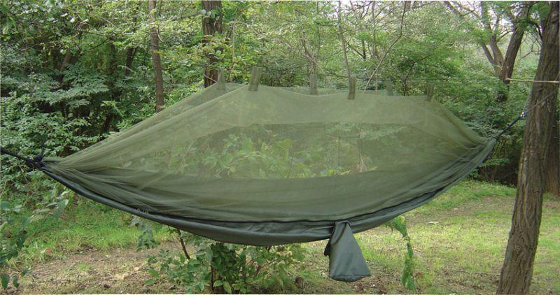 Snugpak Sieťovaná závesná posteľ Hamaka s moskytiérou Jungle, PF61660
