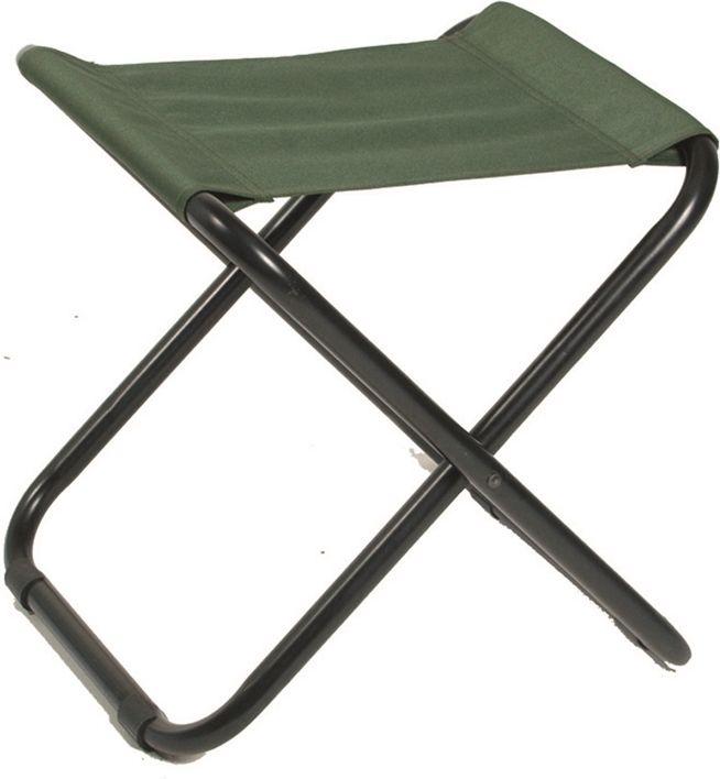 Skladacia stolička CAMPING, olivová