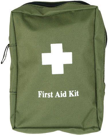 MILTEC Lekárnička First Aid Large - olivová (16027001)