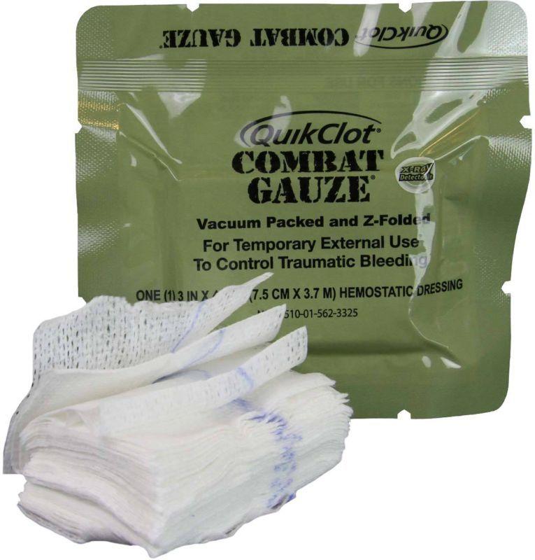 Z-MEDICA Gáza Combat Gauze QuikClot 7,5cm x 3,7m