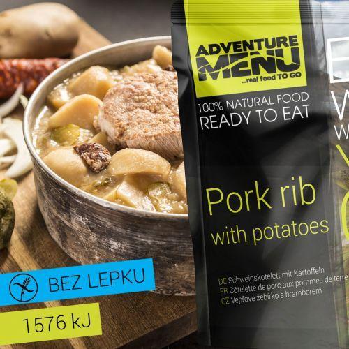 Adventure Menu Bravčové rebierko so zemiakmi