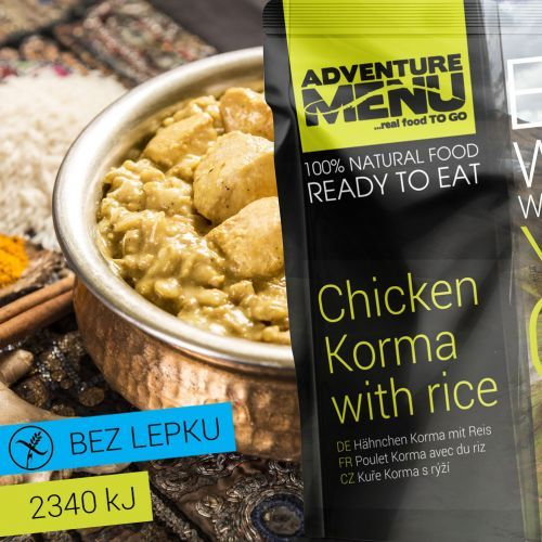 Adventure Menu Kura Korma s ryžou