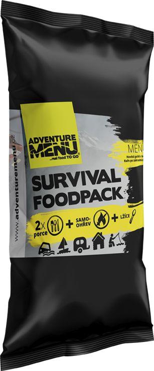 ADVENTURE MENU Survival Food Pack MENU 1 (Hovädzí guláš so zemiakmi + Kuracie po záhradnícky s fazuľami)