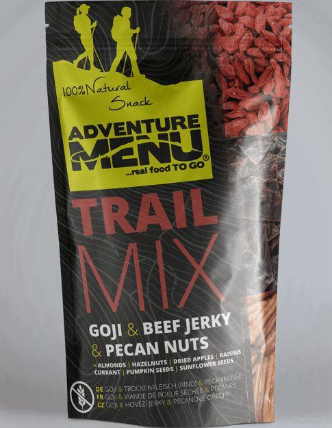 Adventure Menu Trail Mix (hovädzie jerky, goji, pekanové orechy) 100g