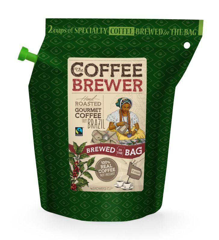 Káva Growers cup Brazil 300ml
